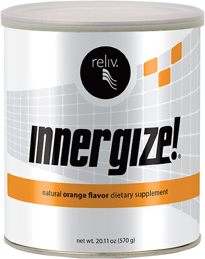 Innergize! hydrates the cells so that they're ready to absorb more nutrients.