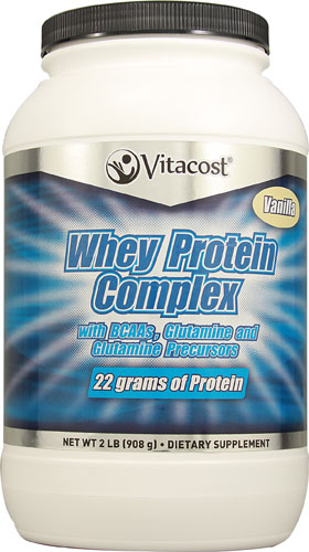 Vanilla Whey Protein that is sweetened with Xylitol & Stevia
