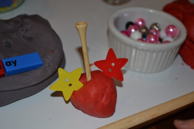 Next he wanted to expand his baking abilities to making cake pops.