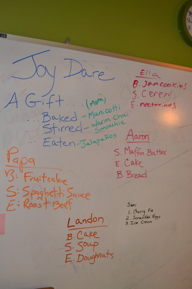 Joy Dare 11-5-13