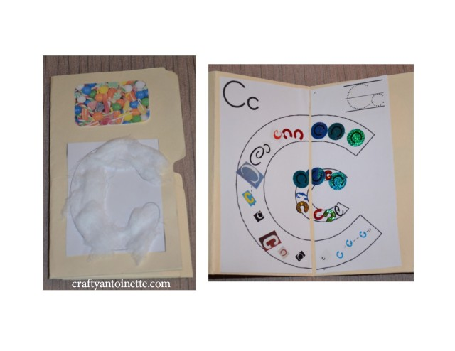 Last but not least was a our lapbook.